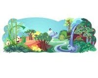 Google Earth Day doodle