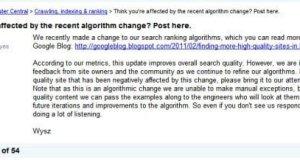 Google Forum Tweak Farm Content Report