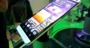 HTC One Side Angle