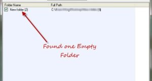 batch delete empty folders