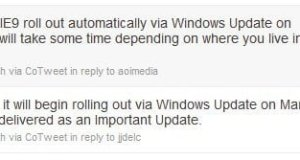 IE 9 To Rollout Via Windows Update
