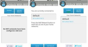 Keep your phone unlocked when connected to your Wi-Fi network