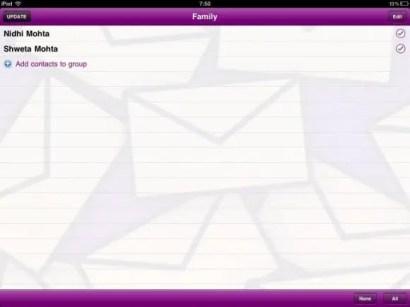 Mailshot Group Create