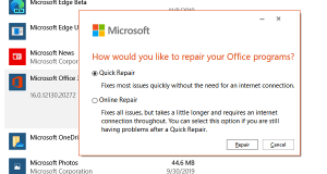 Microsoft Repair Office