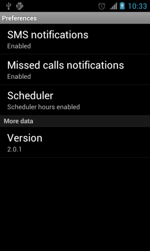 Missed Call Notification on Android