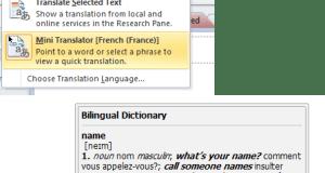 One Note Translate