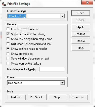 How to continuously auto print files from a folder (Windows)