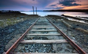 Rails to end Free Download Wallpaper
