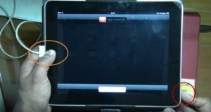 Reseting iPad