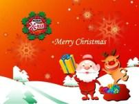 Santa and Christmas Free Windows theme for Christmas