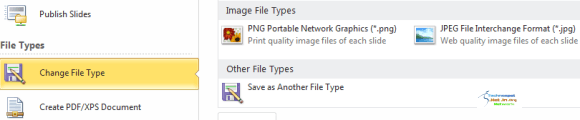 Save Slides as Images