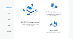 WhatsApp Data Transfer between Android iPhone