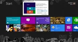 Windows 8 Start Screen Change Row