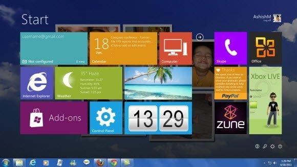 Windows 8 Theme for Windows 7