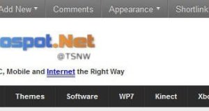 WordPress Admin Bar for Websites
