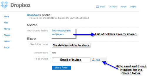 create-shared-folder