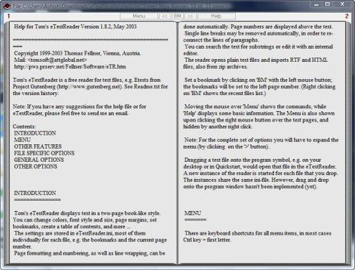 read plain text book view