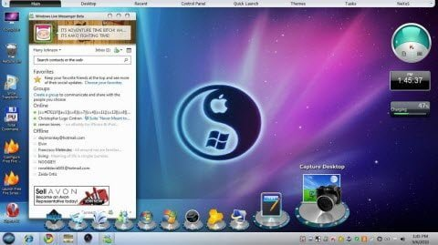 mac theme pack for Windows 7