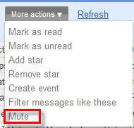 More Actions Mute