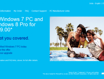 Windows 8 Upgrade Offer Available Now!