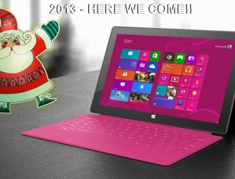 """""""Microsoft turns santa clause"""" Gifting 2013 with its final launch of windows 8 professional Surface tablet"""