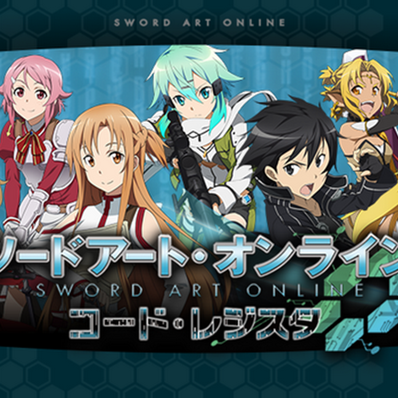 Sword Art Online: Code Register – comercial de TV
