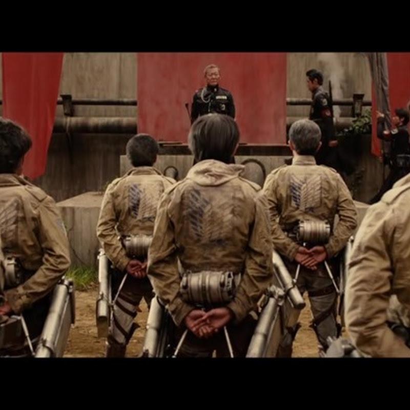 Shingeki no Kyojin Live Action – nuevo trailer