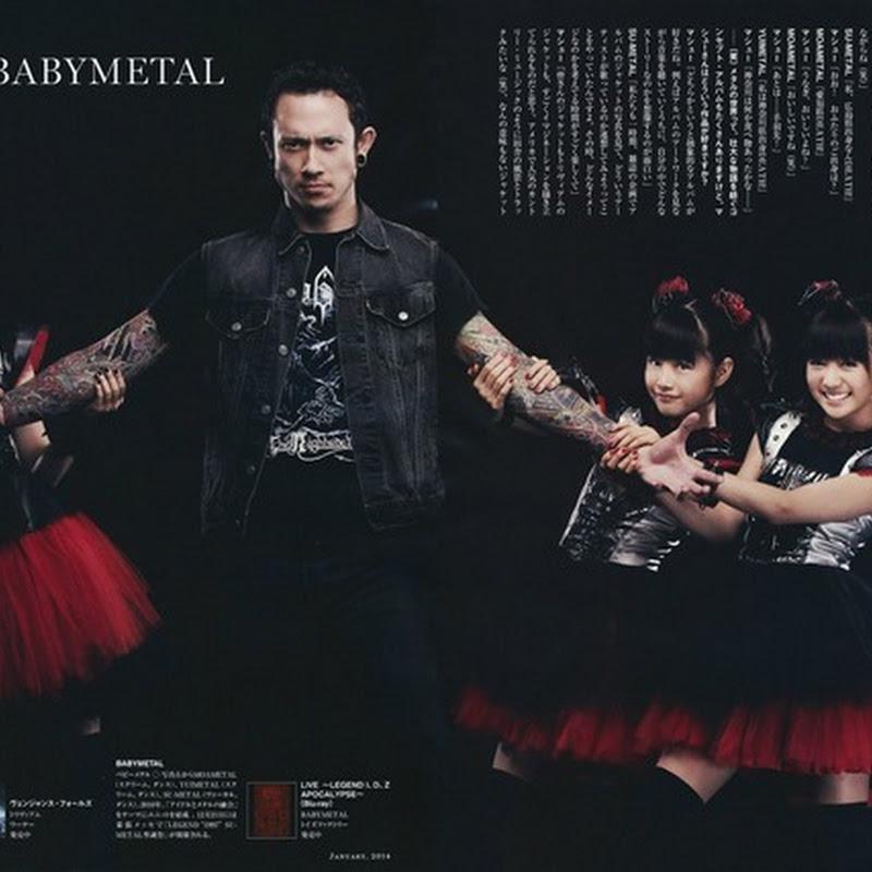 BABYMETAL en la Rolling Stone magazine Japan