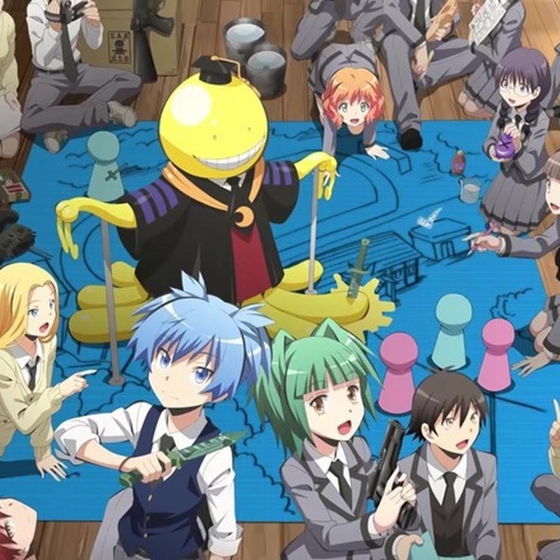 Comercial para la segunda temporada de Ansatsu Kyoushitsu