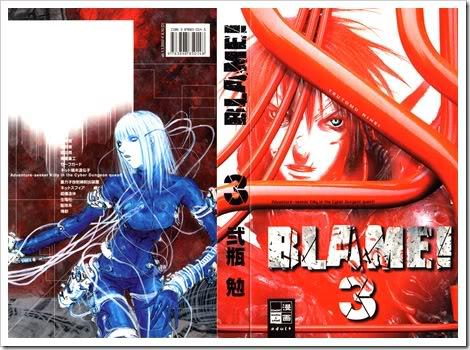 Blame Manga en descarga (vol 01 al 04)