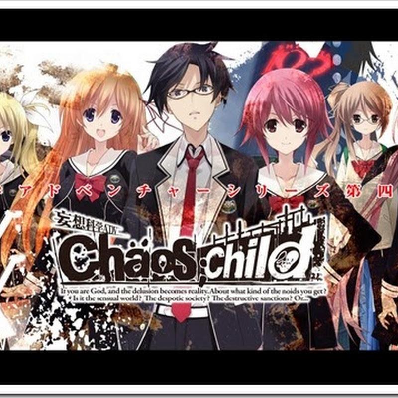 CHAOS;CHILD nuevo juego de 5pb. y MAGES