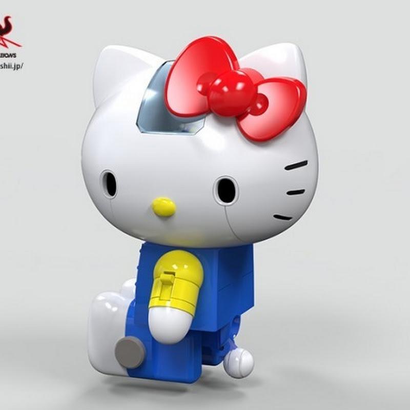 """Anime del origen de """"Chogokin Hello Kitty"""""""