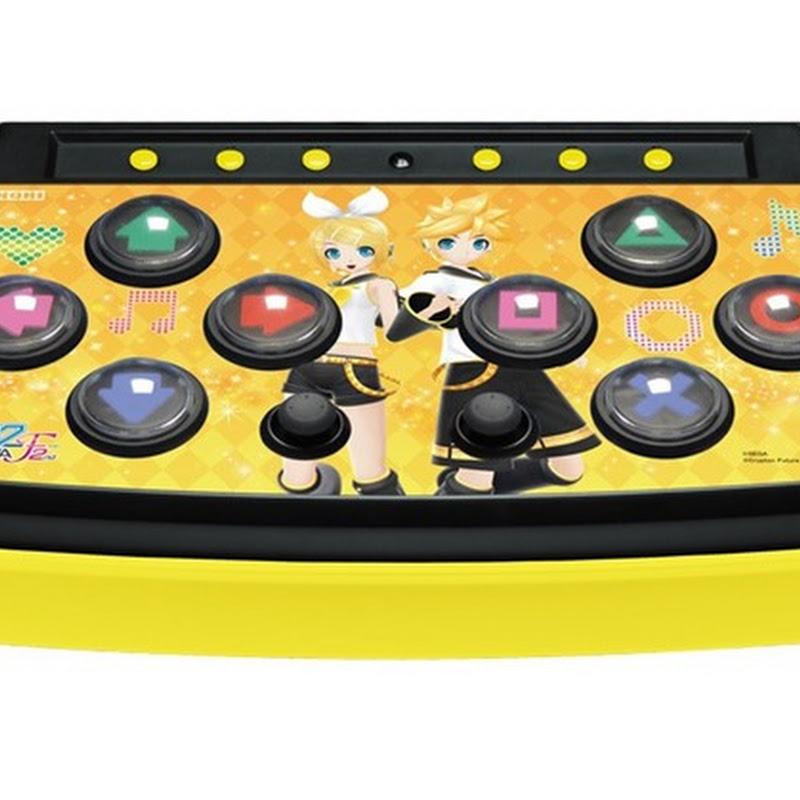 Control de PS3 para Hatsune Miku: Project Diva F 2nd con Rin y Len