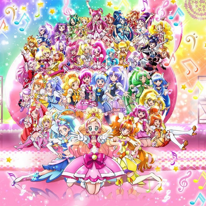 Eiga Precure All Stars con música y voces por Morning Musume