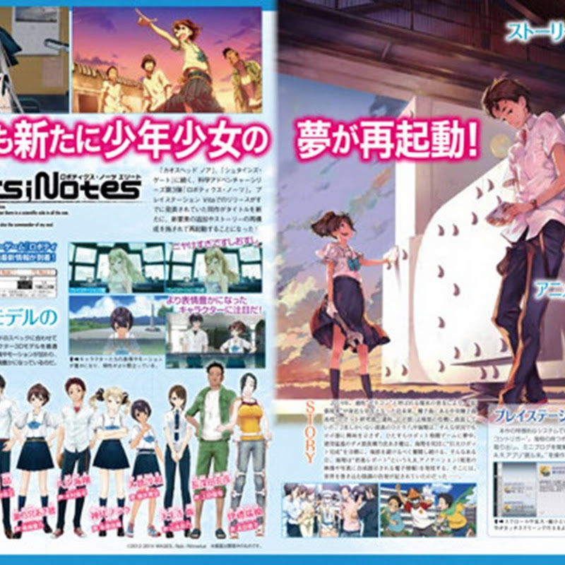 Robotics;Notes tiene una historia reconstruida para el PlayStation Vita