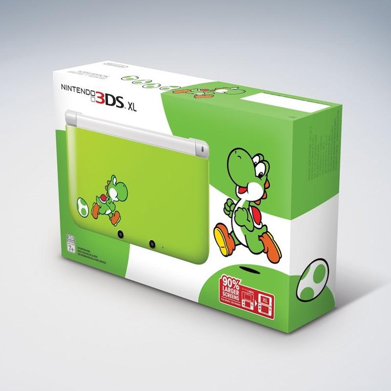 Nintendo lanza su Yoshi Edition del Nintendo 3DS XL el 14 de marzo