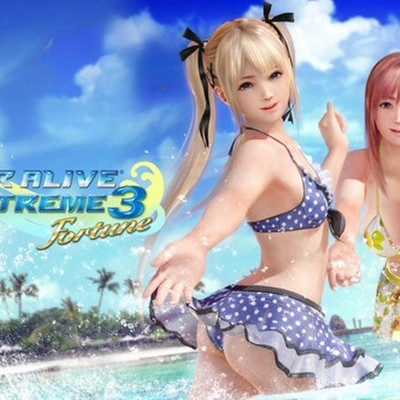 Dead or Alive Xtreme 3 tendrá soporte para Realidad Virtual a partir de octubre