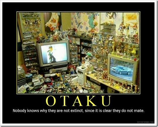 Los Otaku no son los más rechazados por las Mujeres