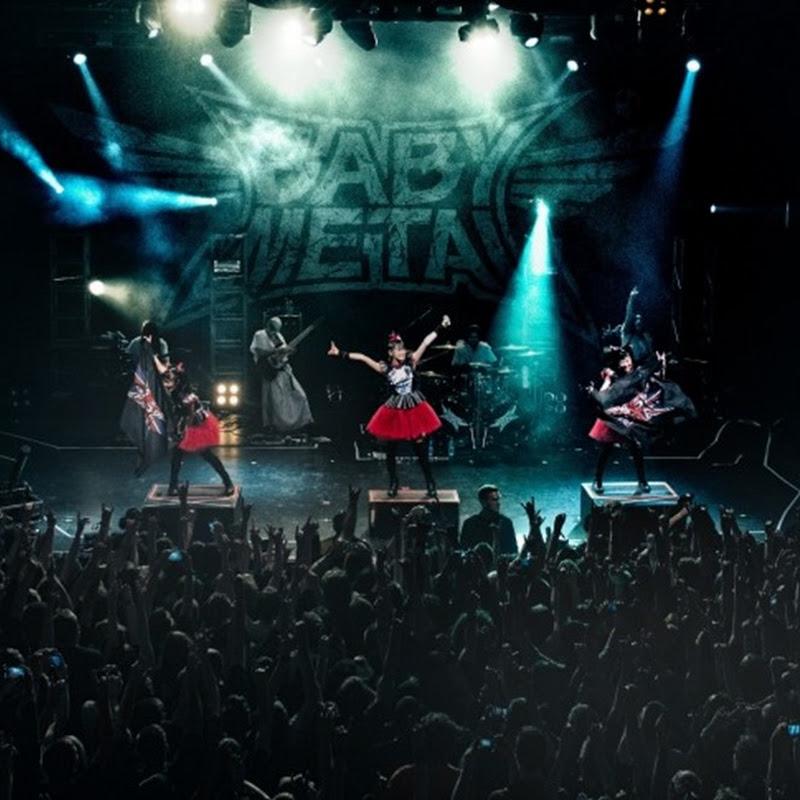 BABYMETAL WORLD TOUR 2014 – setlist, video y fotos del concierto en Inglaterra