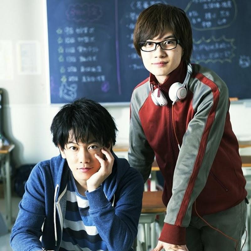 """Live Action de """"Bakuman"""" protagonizado por Satoh Takeru y Kamiki Ryunosuke"""