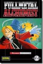 FullMetal Alchemist Manga (Tomo 2)