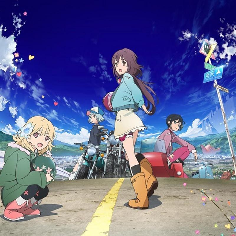 Rolling Girls – estrena el 10 de enero (anime, trailer)