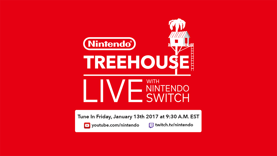 Nintendo Treehouse Live with Nintendo Switch, el 13 de enero