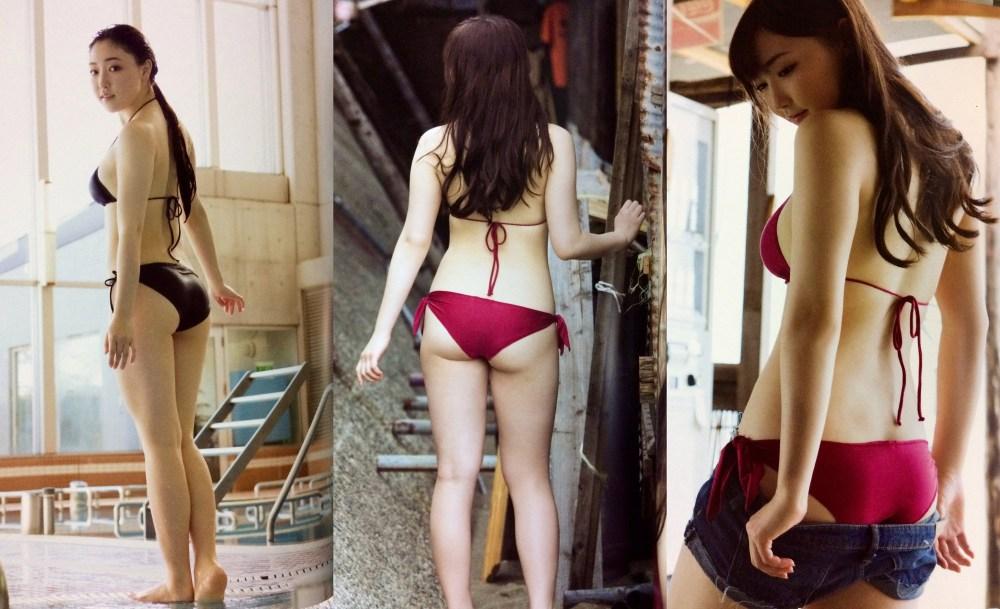 "Fukumura Mizuki – previews de su nuevo photobook ""HATACHI"""