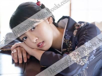 Iikubo Haruna en Hello! Project Digital Books del mes de octubre