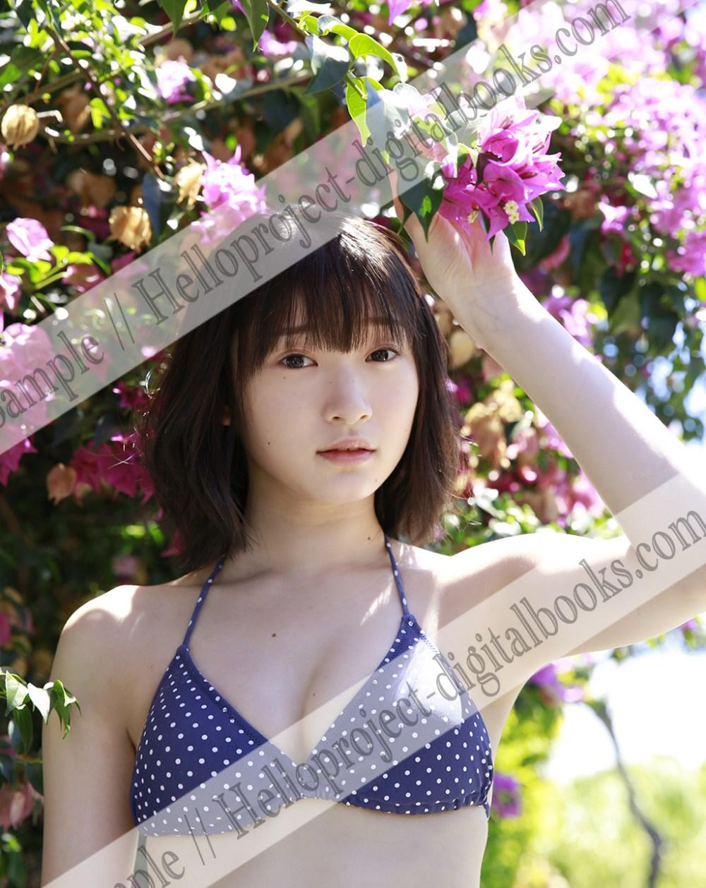 Miyamoto Karin – modelo de Hello! Project Digital Books de Diciembre 2017