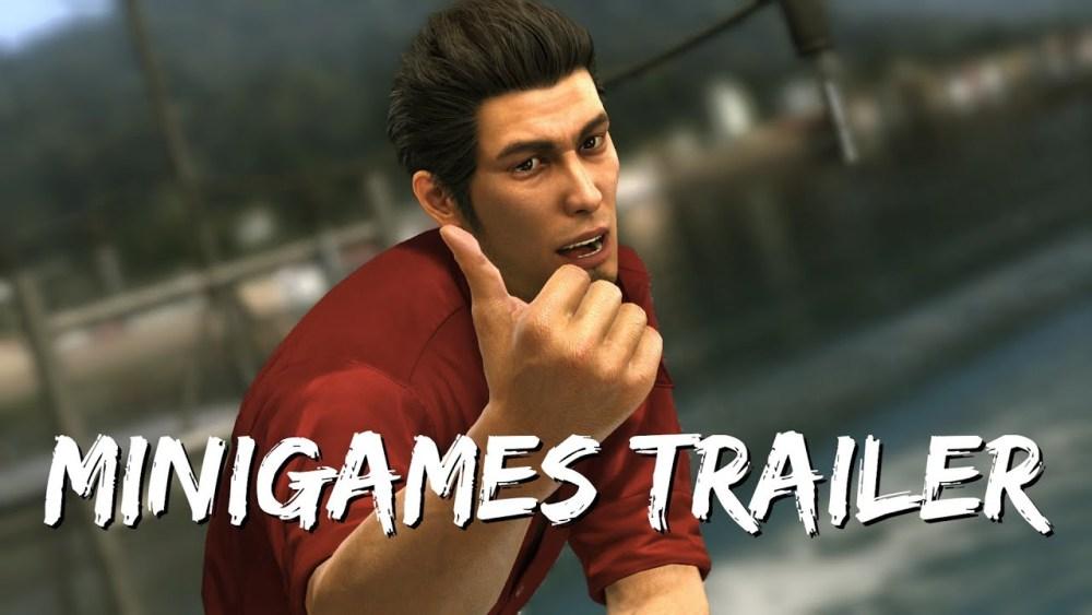 Trailer de mini juegos para Yakuza 6 para el PS4 - main visual