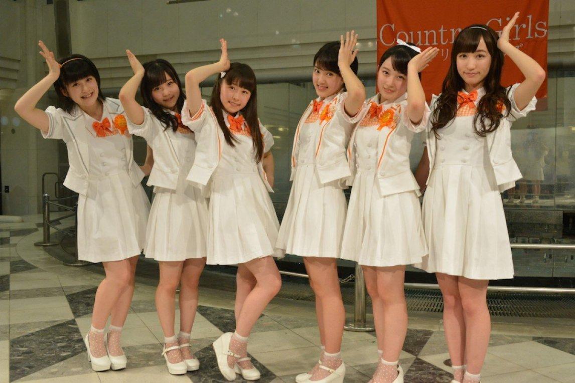 Country Girls, Inaba Manaka, Morito Chisaki, Ozeki Mai, Shimamura Uta, Tsugunaga Momoko, Yamaki Risa