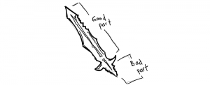 What If programming languages were weapons