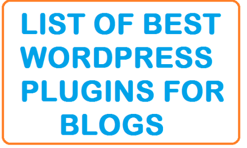 list of best wordpress plugins for blogs